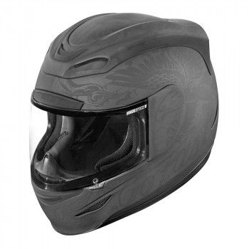 Icon Integraalhelm Airmada Scrawl Black