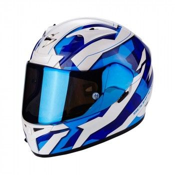 Scorpion Integraalhelm EXO-710 Air Furio Blue/White