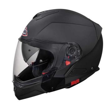 SMK Modulaire Helm Hybrid Matt Black