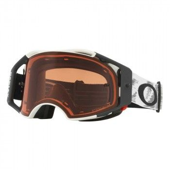 Oakley Crossbril Airbrake MX Matte White Speed/Prizm™ Bronze