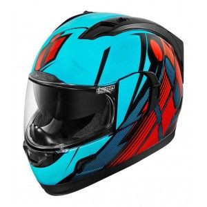 Icon Integraalhelm Alliance GT Primary Blue/Red