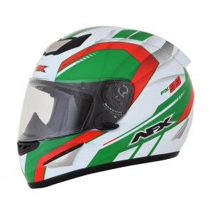 AFX Integraalhelm FX-95 Airstrike Limited Edition White/Green/Red
