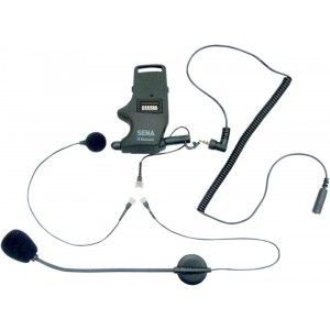Sena SMH-10 Helmet Clamp Kit For Earbud With Wired And Boom Mic (SMH-A0304)