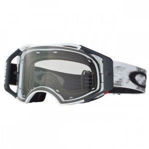 Oakley Crossbril Airbrake MX Matte White/Clear