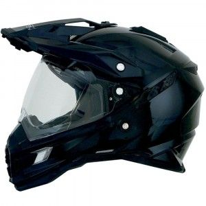 AFX Crosshelm/Endurohelm FX-41DS Gloss Black