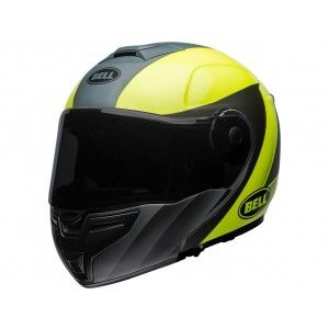 Bell SRT-Modular Systeemhelm Presence Grey/Neon Yellow