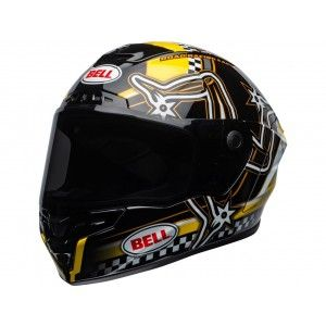 Bell Star DLX MIPS Integraalhelm Isle of Man 2020 Gloss Black/Yellow