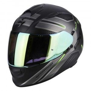Scorpion Integraalhelm EXO-510 Route Matt Black/Green