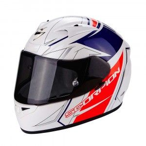 Scorpion Integraalhelm EXO-710 Air Line White/Red/Blue
