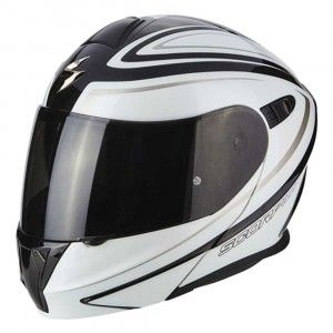 Scorpion Systeemhelm EXO-920 Ritzy Black/White