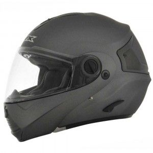AFX Systeemhelm FX-36 Solid Frost Grey