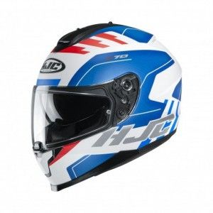 HJC Integraalhelm C70 Koro Blue/White