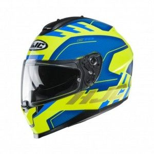 HJC Integraalhelm C70 Koro Blue/Yellow