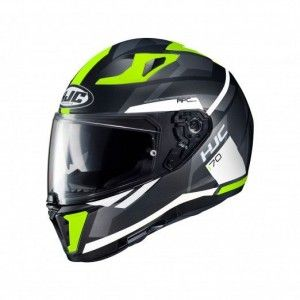 HJC Integraalhelm I70 Elim White/Fluor Yellow