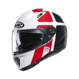 HJC Integraalhelm I70 Prika Red/White