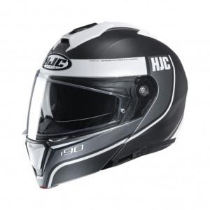 HJC Systeemhelm I90 Davan Black/White