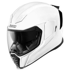 Icon Integraalhelm Airflite Gloss Solids White