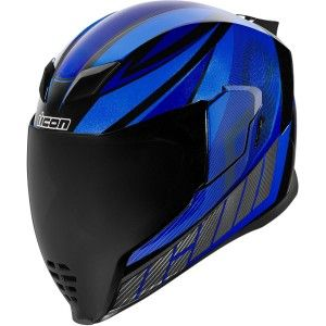Icon Airflite QB1 Integraalhelm Blue