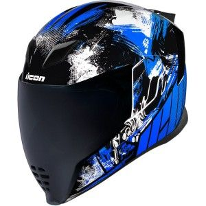 Icon Airflite Stim Integraalhelm Blue