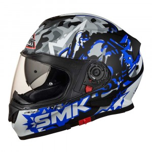 SMK Integraalhelm Twister Attack Blue