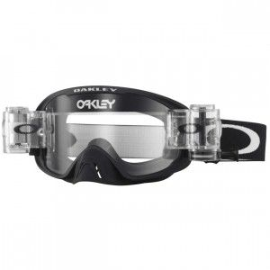 Oakley Crossbril O2 MX Race-Ready Matte Black/Clear