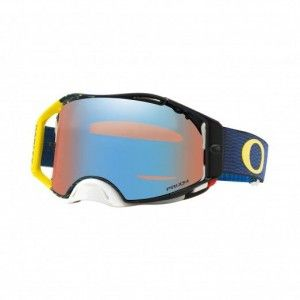 Oakley Airbrake Crossbril Equalizer Blue/Yellow