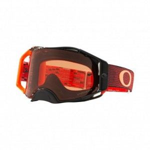 Oakley Airbrake Crossbril Equalizer Red/Orange