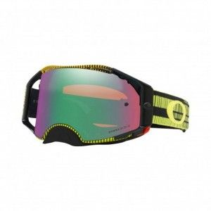 Oakley Airbrake Crossbril Frequency Green/Yellow