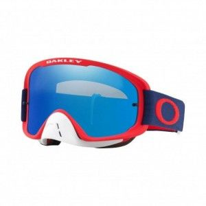 Oakley Crossbril O Frame 2.0 MX Red Navy Black Ice Iridium