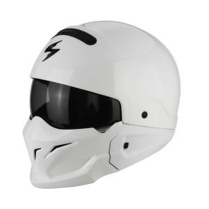 Scorpion Jethelm EXO-Combat Solid White