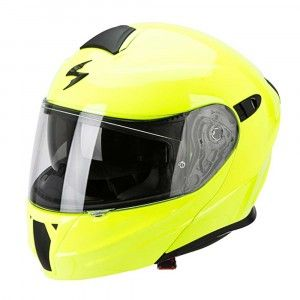 Scorpion Systeemhelm EXO-920 Solid Neon Yellow