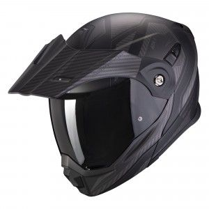 Scorpion ADX-1 Enduro Systeemhelm Tucson Carbon Black
