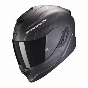 Scorpion EXO-1400 Air Carbon Integraalhelm Beaux Black/Zilver