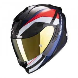 Scorpion EXO-1400 Air Carbon Integraalhelm Legione Red/Blue