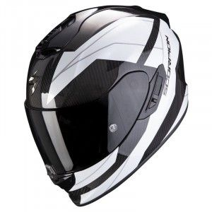 Scorpion EXO-1400 Air Carbon Integraalhelm Legione White/Black