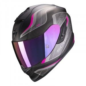 Scorpion EXO-1400 Air Integraalhelm Attune Matt Black/Pink