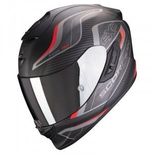 Scorpion EXO-1400 Air Integraalhelm Attune Matt Black/Red