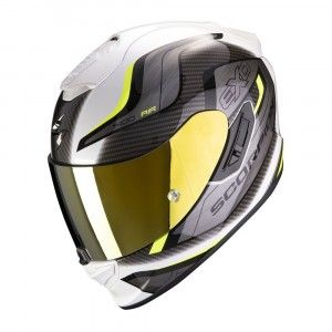 Scorpion EXO-1400 Air Integraalhelm Attune White/Neon Yellow