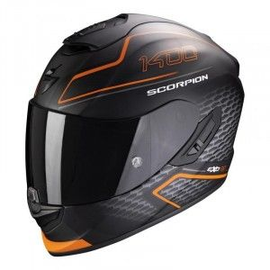 Scorpion EXO-1400 Air Integraalhelm Galaxy Matt Orange