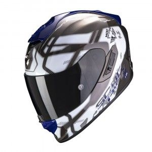 Scorpion EXO-1400 Air Integraalhelm Spatium White/Blue