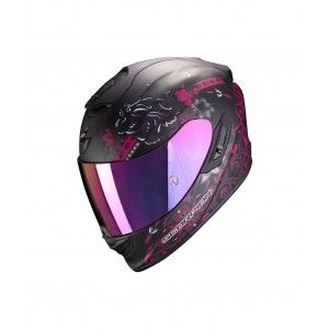 Scorpion EXO-1400 Air Integraalhelm Toa Matt Black/Pink