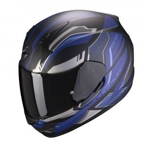 Scorpion EXO-390 Integraalhelm Boost Black/Blue
