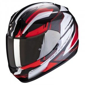 Scorpion EXO-390 Integraalhelm Boost Black/Red/White