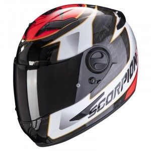 Scorpion EXO-490 Integraalhelm Tour White/Red