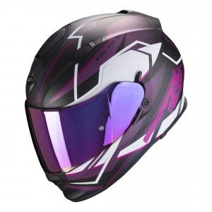 Scorpion EXO-510 Air Integraalhelm Balt Black/White/Pink
