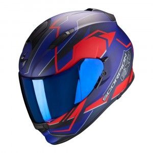 Scorpion EXO-510 Air Integraalhelm Balt Blue/Red