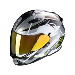 Scorpion EXO-510 Air Integraalhelm Balt Silver/White