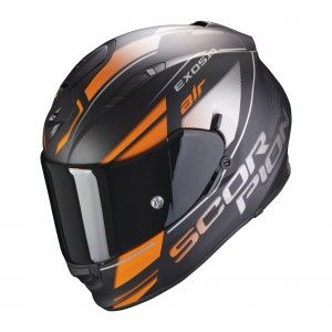 Scorpion EXO-510 Air Integraalhelm Ferrum Black/Orange/Zilver