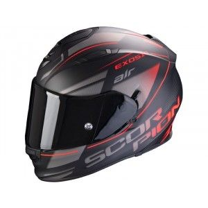 Scorpion EXO-510 Air Integraalhelm Ferrum Black/Red/Zilver