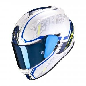 Scorpion EXO-510 Air Integraalhelm Occulta Pearl White/Blue